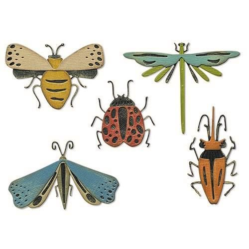 Sizzix Thinlits Die Set - Funky Insects 5PK 665364 Tim Holtz (04-21)