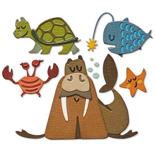 Sizzix Thinlits Die Set - Under the Sea #2 Colorize 23PK 665378 Tim Holtz (03-21)