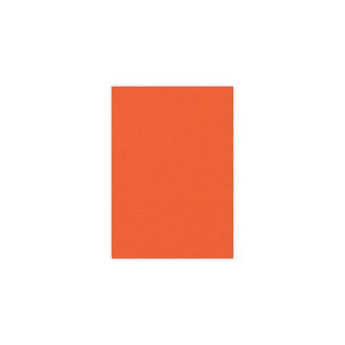 Linnenkarton - A5 - Oranje