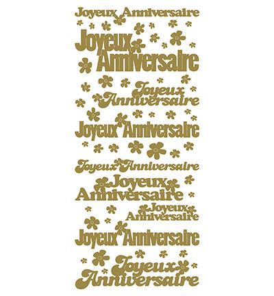 Joyeux Anniversaire Gold/Gold