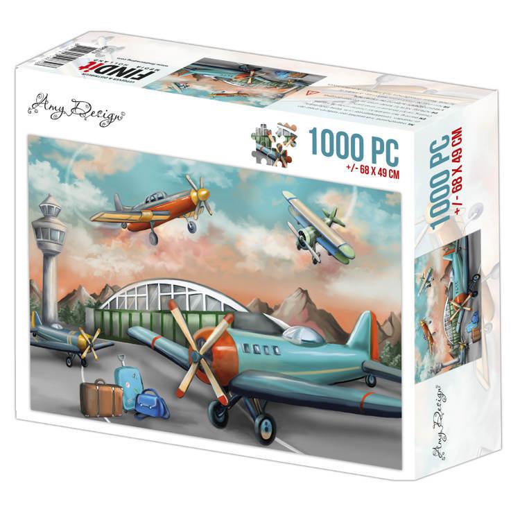 Jigsaw puzzel 1000 pc - Amy Design -Planes