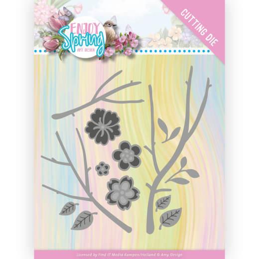 Dies - Amy Design - Enjoy Spring - Blossom Branch