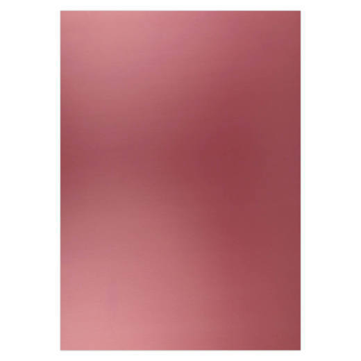 Card Deco Essentials - Metallic cardstock - Burgundy