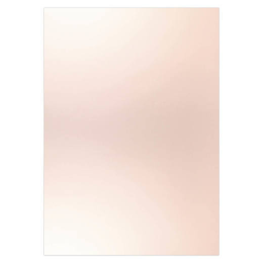 Card Deco Essentials - Metallic cardstock - Rose