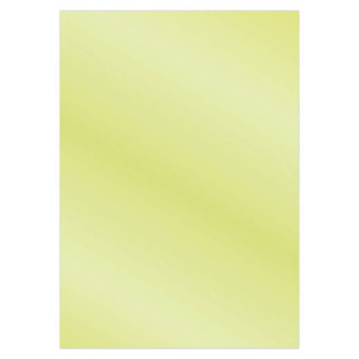 Card Deco Essentials - Metallic cardstock - Olive Yellow