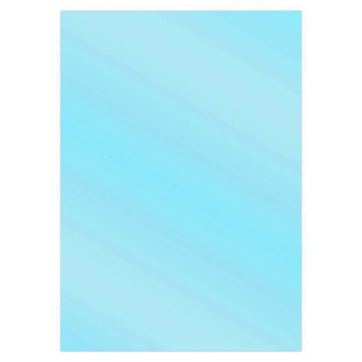 Card Deco Essentials - Metallic cardstock - Sky Blue
