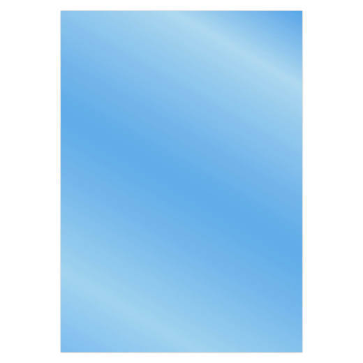 Card Deco Essentials - Metallic cardstock - Blue