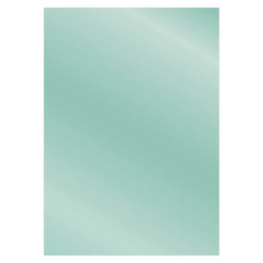 Card Deco Essentials - Metallic cardstock - Light Petrol