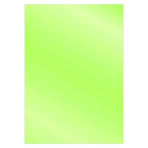 Card Deco Essentials - Metallic cardstock - Lime