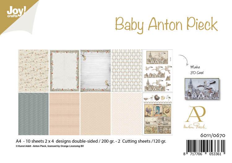 Papierset - Anton Pieck - Design Baby
