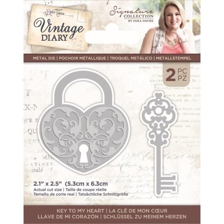 Vintage Diary - Snijmal - Key to my Heart
