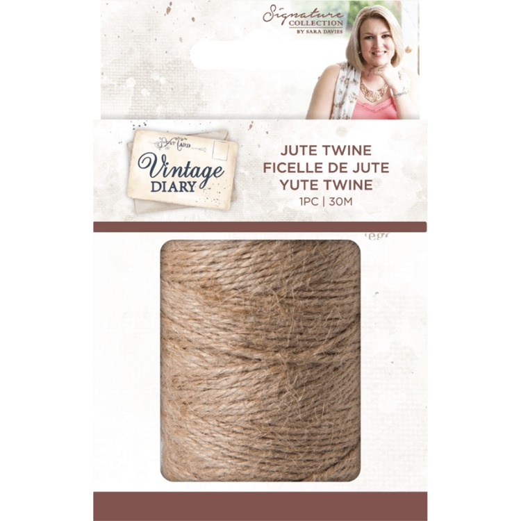 Vintage Diary - Traditional Jute Twine