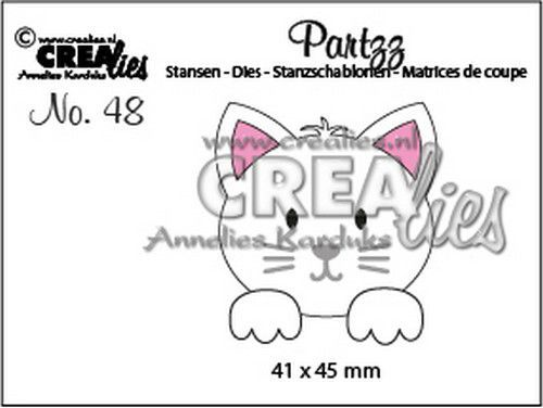Crealies Partzz Kat CLPartzz48 41 x 45 mm (03-21)
