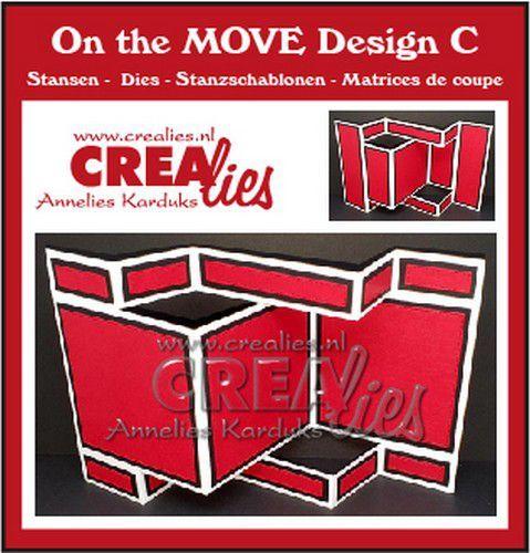 Crealies On The Move Design C CLMOVE03 13,5 x 27 cm (03-21)