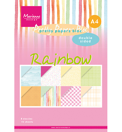 Papier blok Rainbow