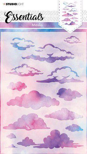 Studio Light Mask Achtergrond wolken Essentials nr.29 SL-ES-MASK29 A5 (03-21)