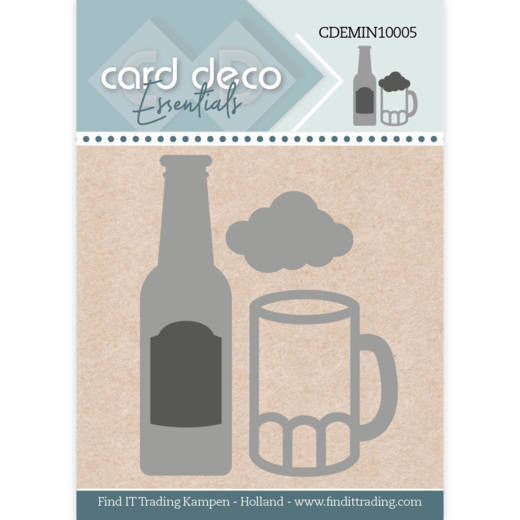 Card Deco Essentials - Mini Dies - Beer