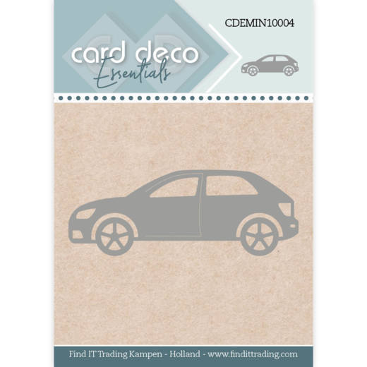 Card Deco Essentials - Mini Dies - Car