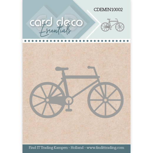Card Deco Essentials - Mini Dies - Bike
