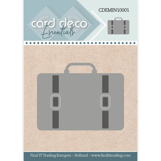 Card Deco Essentials - Mini Dies - Suitcase