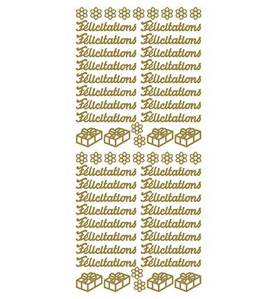 Felicitations Gold/Gold