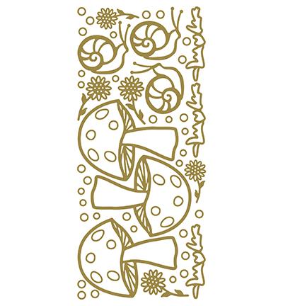 Garden Snail Gold/Gold