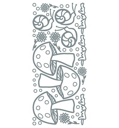 Garden Snail Silver/Silver