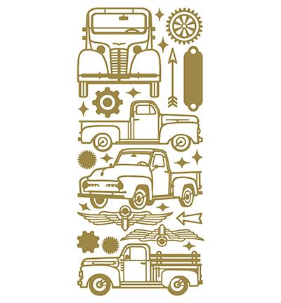 Trucks Gold/Gold