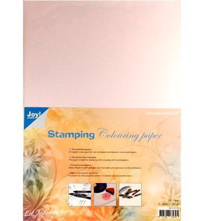 Stempelinkleurpapier A4