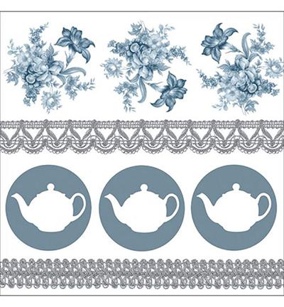 Teapots Blue