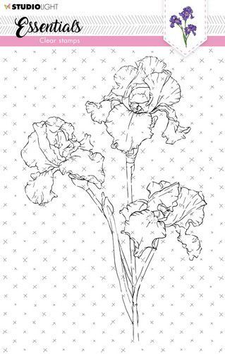 Studio Light Clear Stamp Essentials Iris nr.57 SL-ES-STAMP57 A5 (05-21)