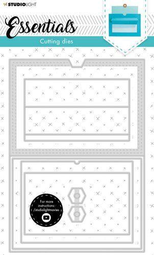 Studio Light Cutting  Die Cardshape Essentials nr.16 SL-ES-CD16 142x202mm (05-21)