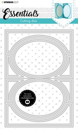 Studio Light Cutting  Die Cardshape Essentials nr.17 SL-ES-CD17 142x202mm (05-21)