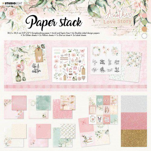 Studio Light Paper pad Another Love Story nr.1 SL-ALS-MPP01 305x305mm (05-21)