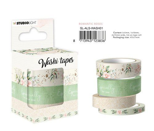 Studio Light Washi Tape Another Love Story nr.1 SL-ALS-WASH01 47x77mm (05-21)