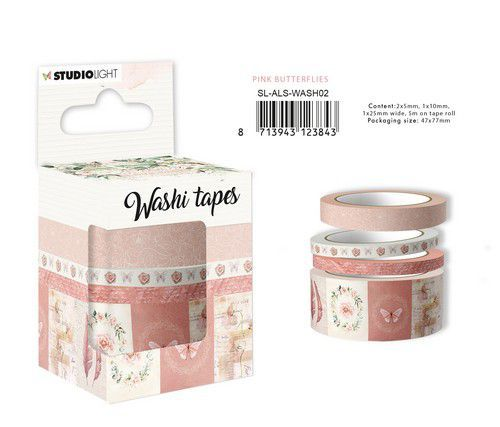 Studio Light Washi Tape Another Love Story nr.2 SL-ALS-WASH02 47x77mm (05-21)