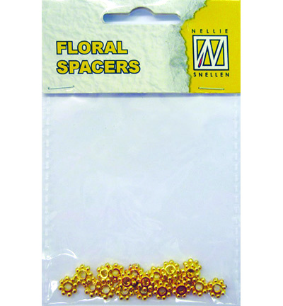 Floral Spacers -  gold  nr. 11