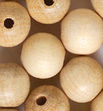 Wooden Beads Naturel, 15mm