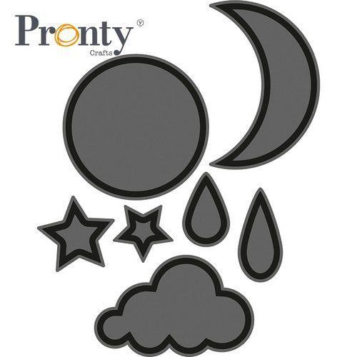 Pronty Foam stamps Basic vormen het weer open 494.001.027 (04-21)