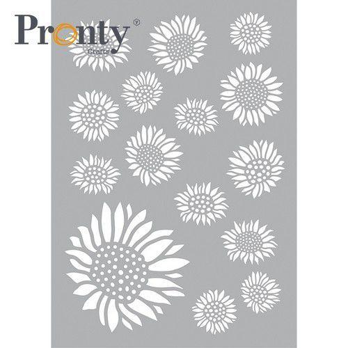 Pronty Mask stencil  Zonnebloemen 470.802.089 A5 (04-21)