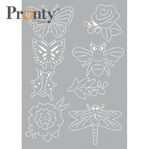 Pronty Mask stencil  Insecten 470.802.091 A5 (04-21)