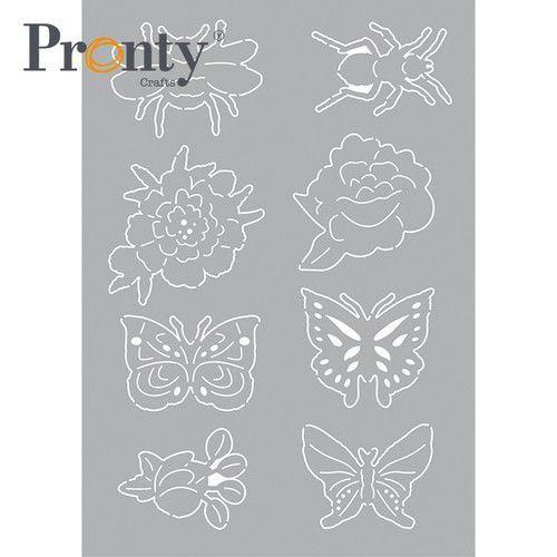 Pronty Mask stencil  Insecten 1 470.802.092 A5 (04-21)