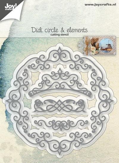 Cutting Snijstencil - Didi cirkel en elementen Snijstencil - Didi cirkel en elementen