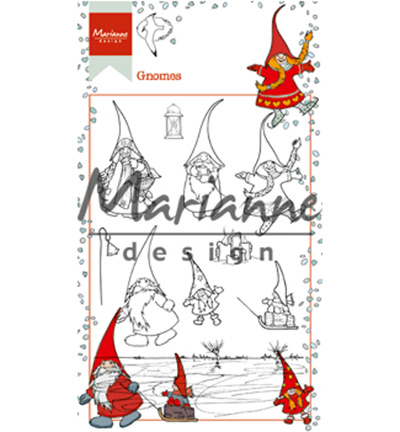 Marianne D Clear HT1639 Stempel Hetty's gnomes