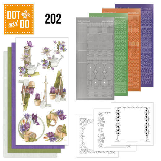 Dot and Do 202 - Precious Marieke - Beautiful Garden - Butterfly