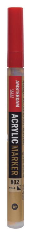 Amsterdam Markers 2 mm Lichtgoud 802