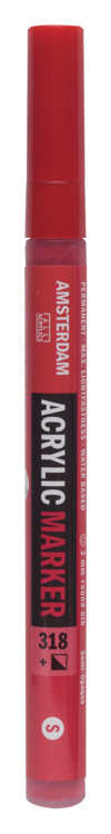 Amsterdam Markers 2 mm Karmijn 318