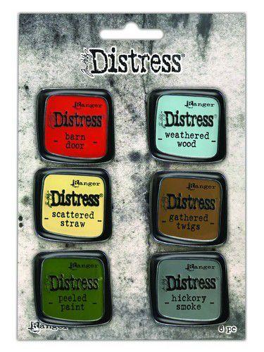 Ranger Distress Pin-Carded -Distress Pin Set 7 - 6 st TDZS73499 Tim Holtz (05-21)