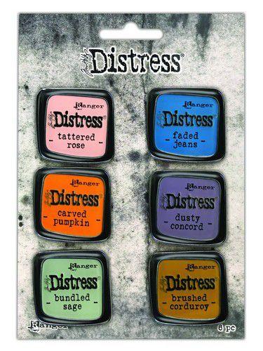 Ranger Distress Pin-Carded -Distress Pin Set 8 - 6 st TDZS73505 Tim Holtz (05-21)