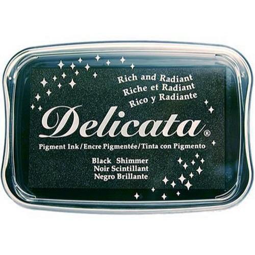 Delicata inktkussen Black shimmer DE-000-382